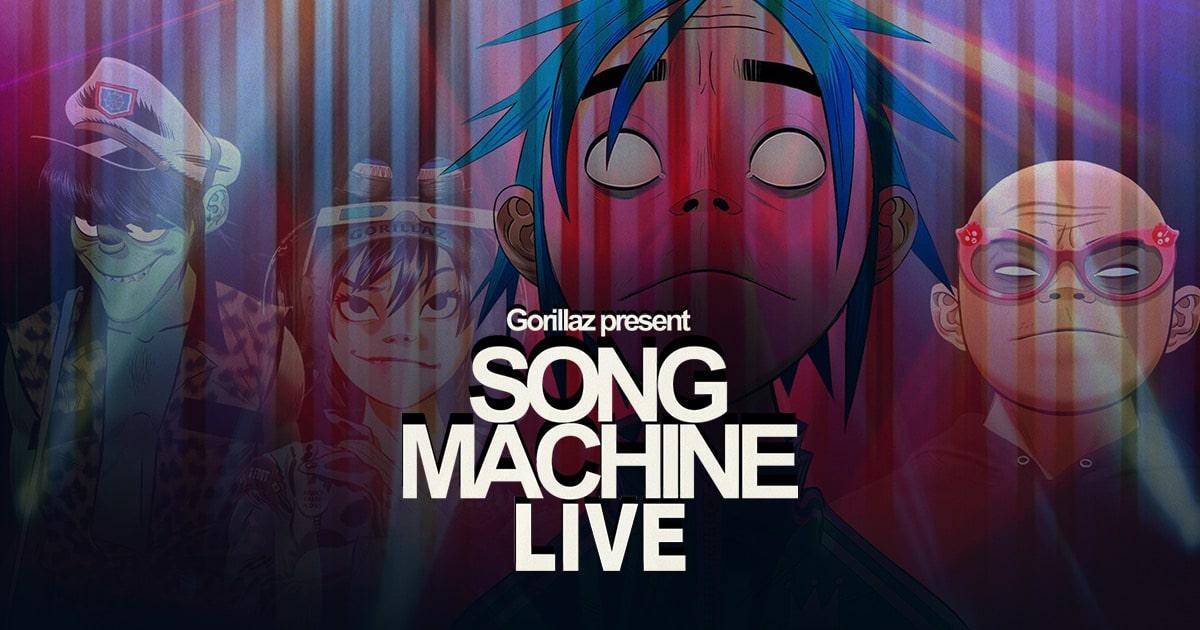song machine live livenow concert en ligne virtuel gorillaz