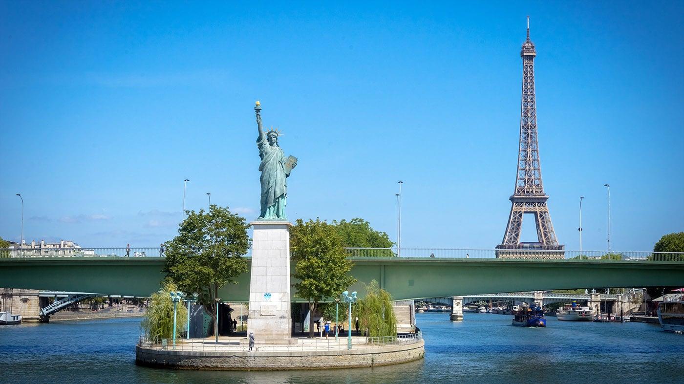 statue-liberte-paris-grenelle pont ile aux cygnes
