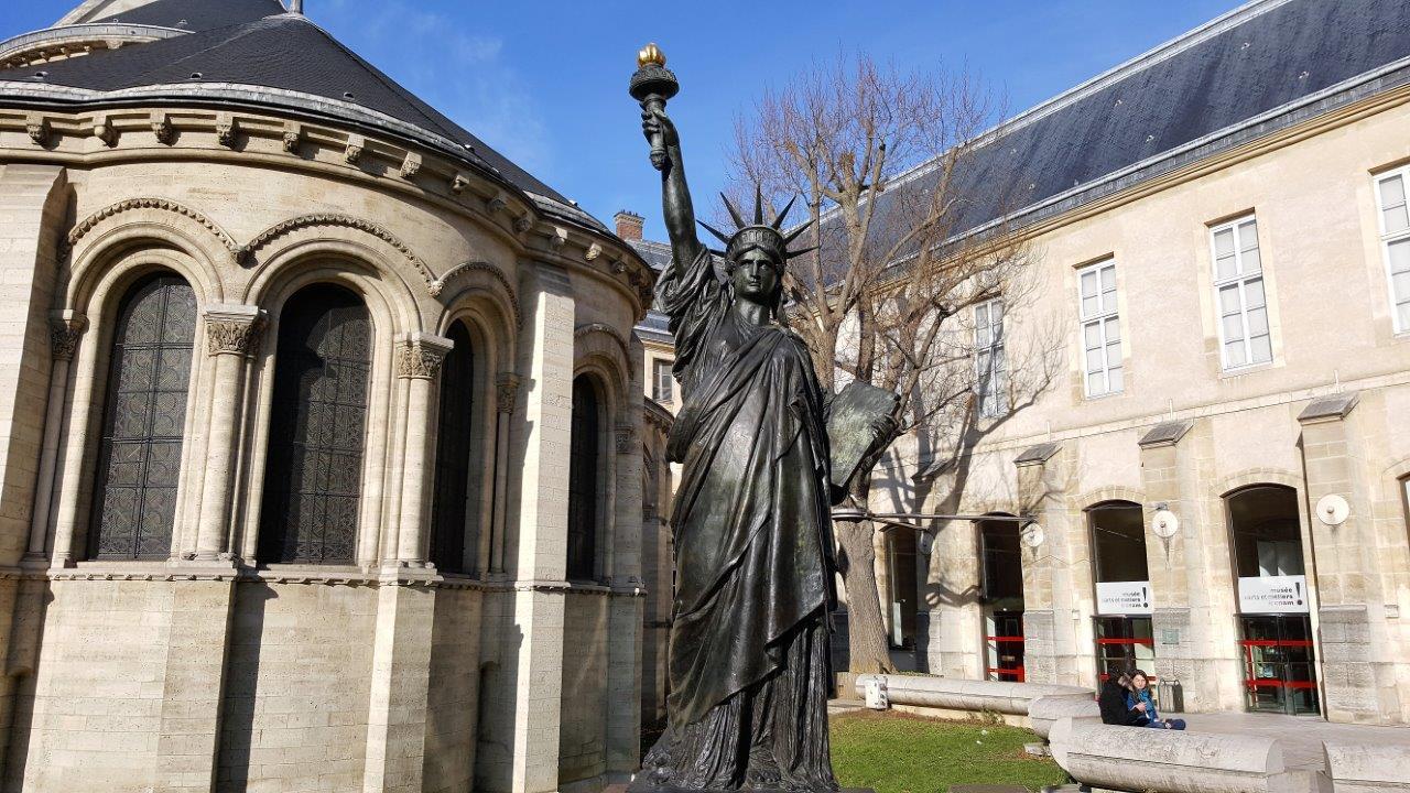 statue de la liberté musée des arts et métiers paris
