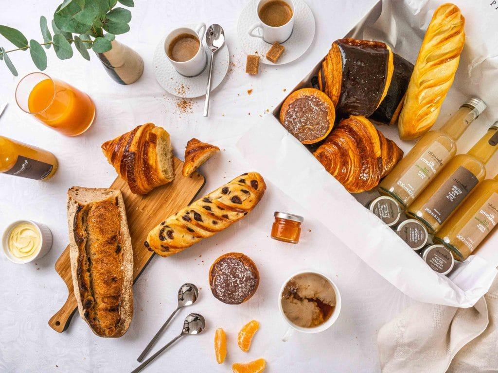 Box d'émotions Chef Philippe Conticini lance sa box petit déjeuner livraison Click & Collect Paris