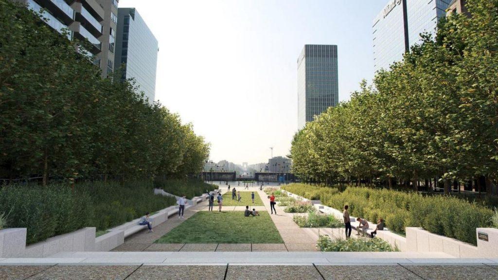 la défense quartier vert paris nature végétalisation