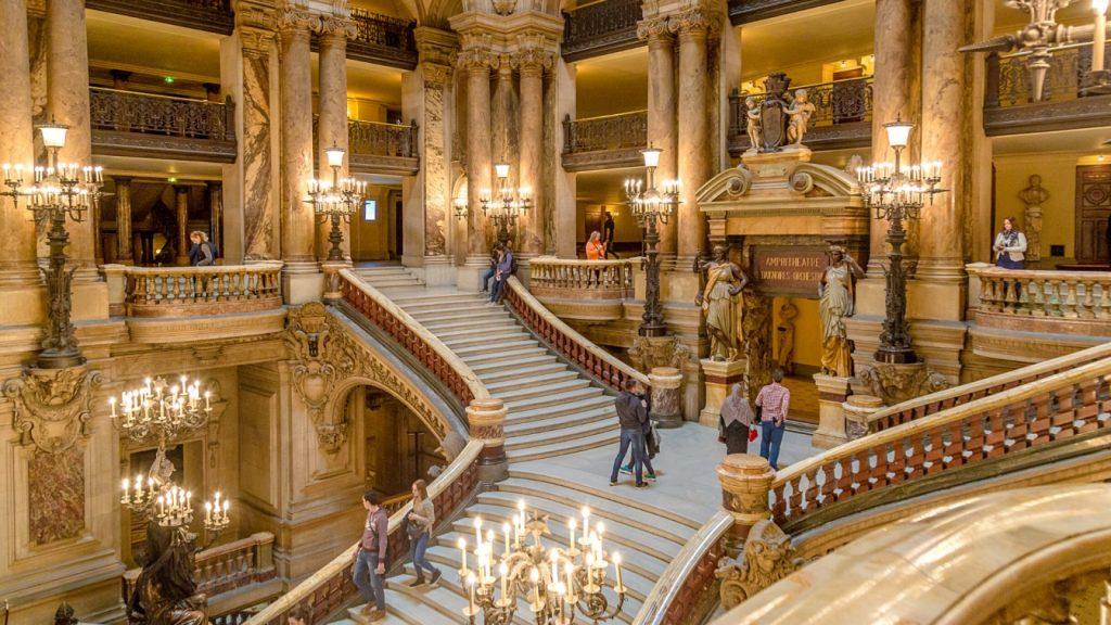 Visite virtuelle gratuite Opéra national de Paris Palais Garnier Paris