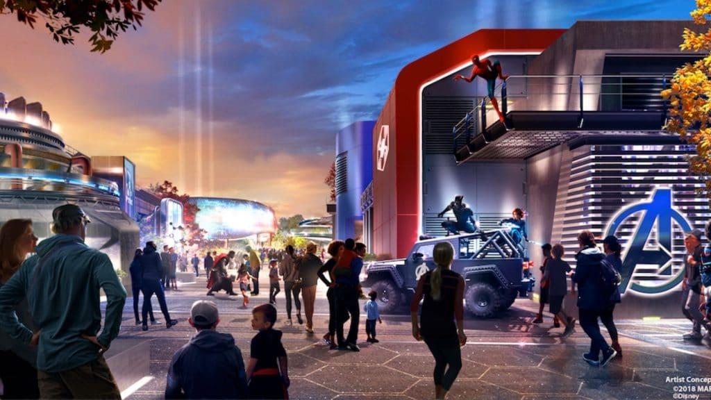 zone marvel disneyland paris ouverture 2021