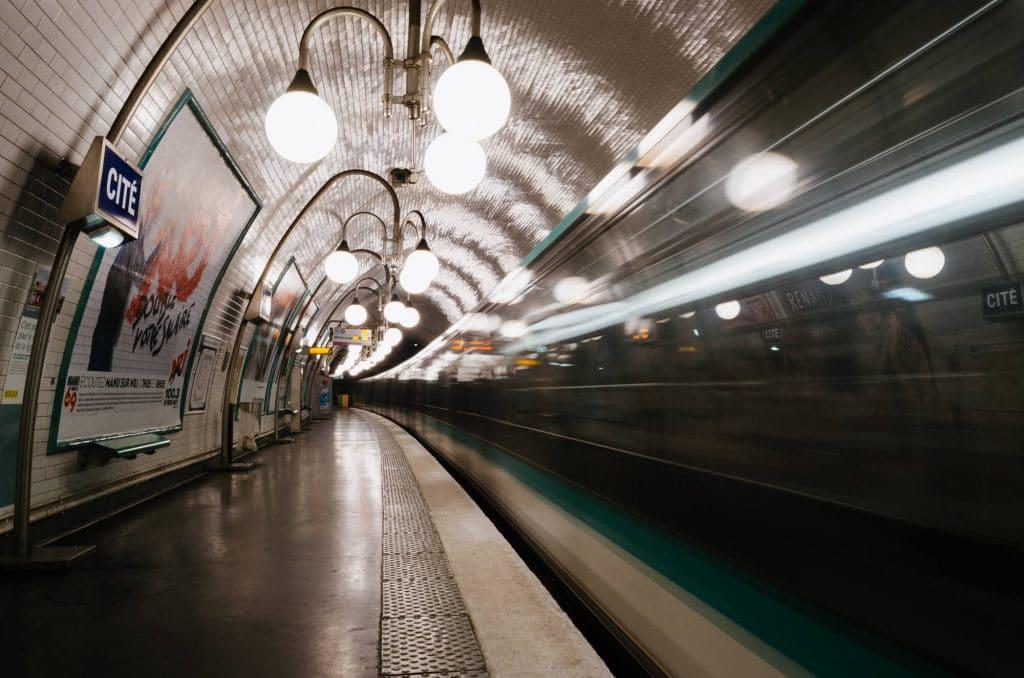 Plus belles stations de métro Paris