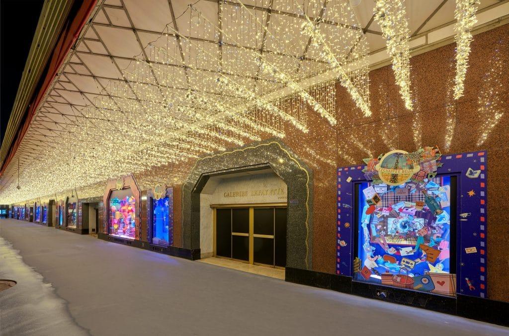 Vitrines de Noël 2020 Galeries Lafayette Haussmann
