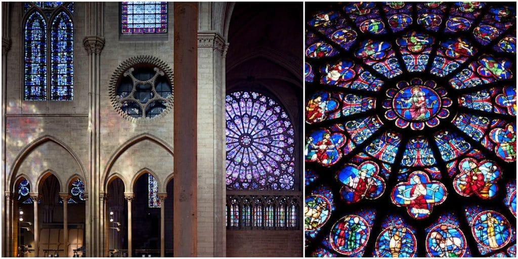 Cathédrale Notre Dame de Paris réaménagement vitraux contemporains