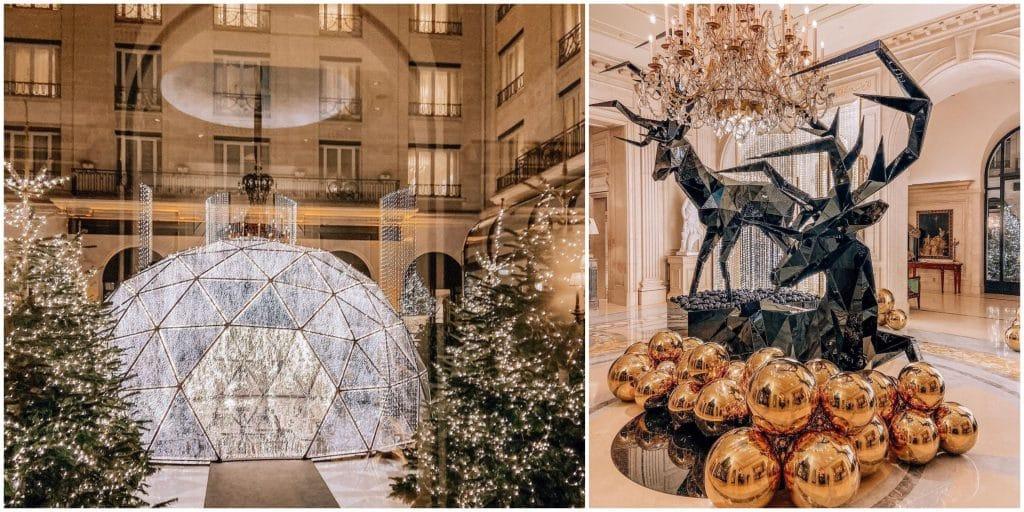 Le Four Seasons Hôtel George V Paris ouvre sa boutique de Noël