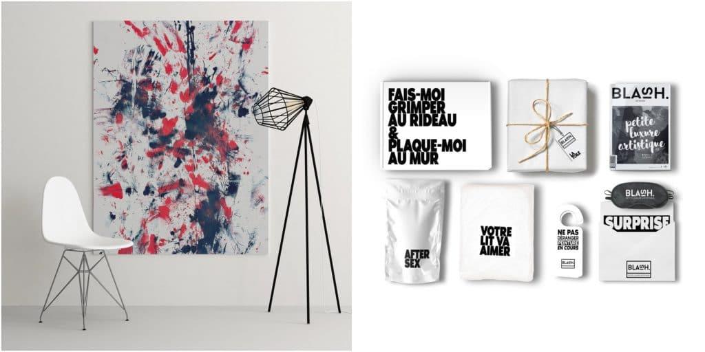 Insolite Blash kit de peinture érotique