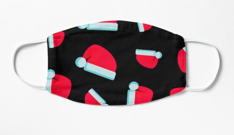 masques covid bonnet noel