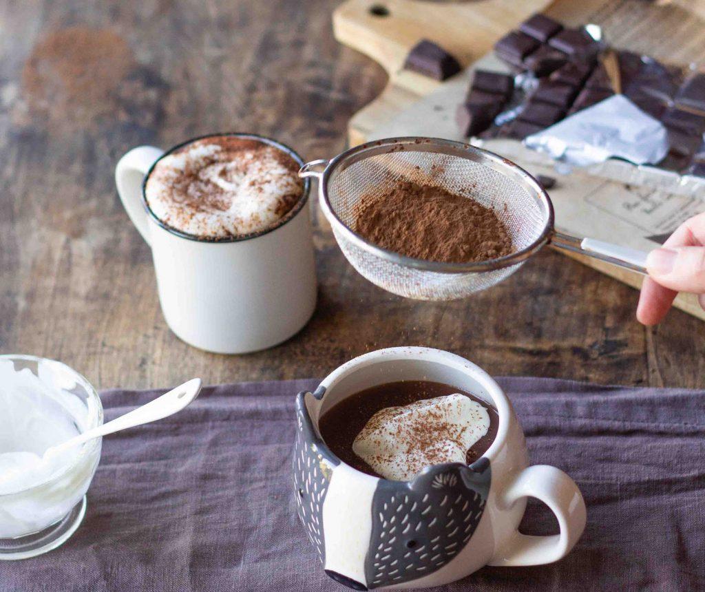 Recette chocolat chaud Angelina Paris