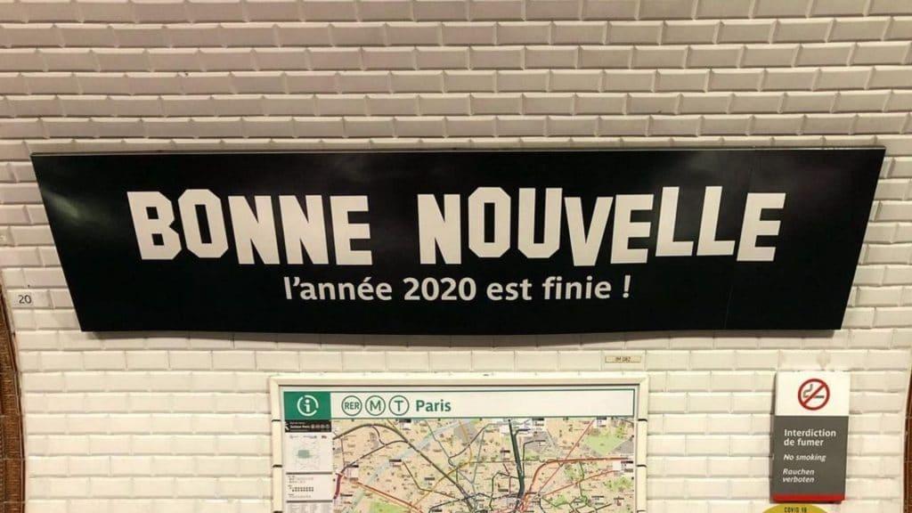 bonne nouvelle métro ratp fin 2020 2021