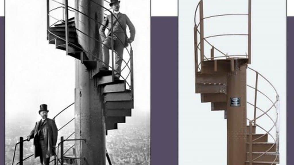 tour eiffel escalier vente aux enchères paris