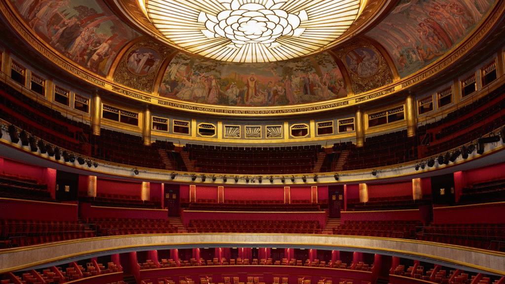 Paris 16 décembre 9ème Symphonie Beethoven Théâtre des Champs Elysées