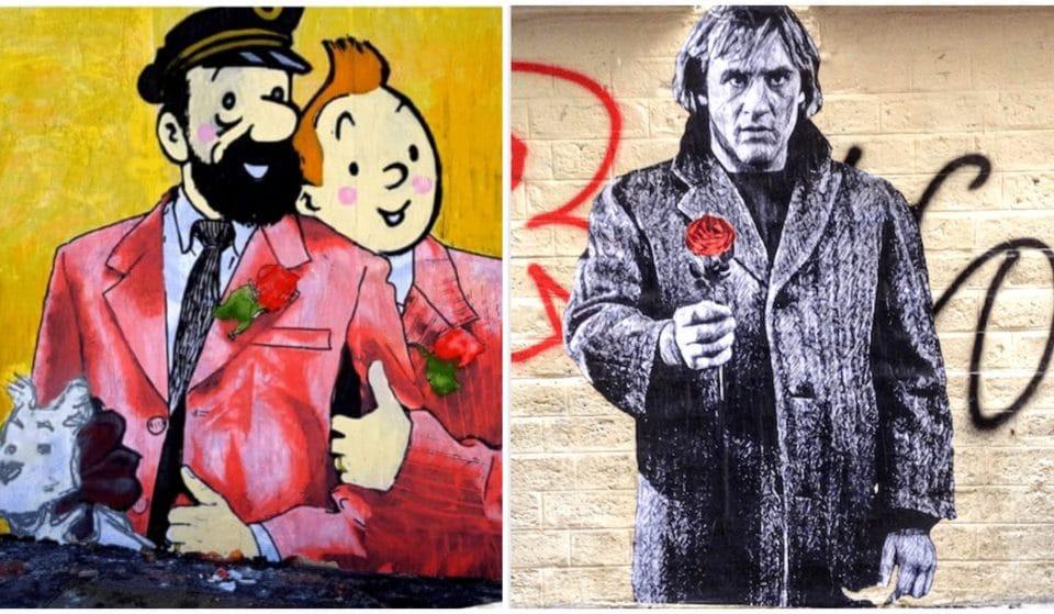 Street art : les plus beaux graffitis dédiés à l'amour à Paris !