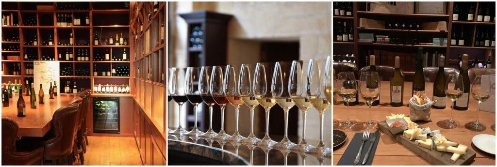 Paris dégustation vins Ô Chateau