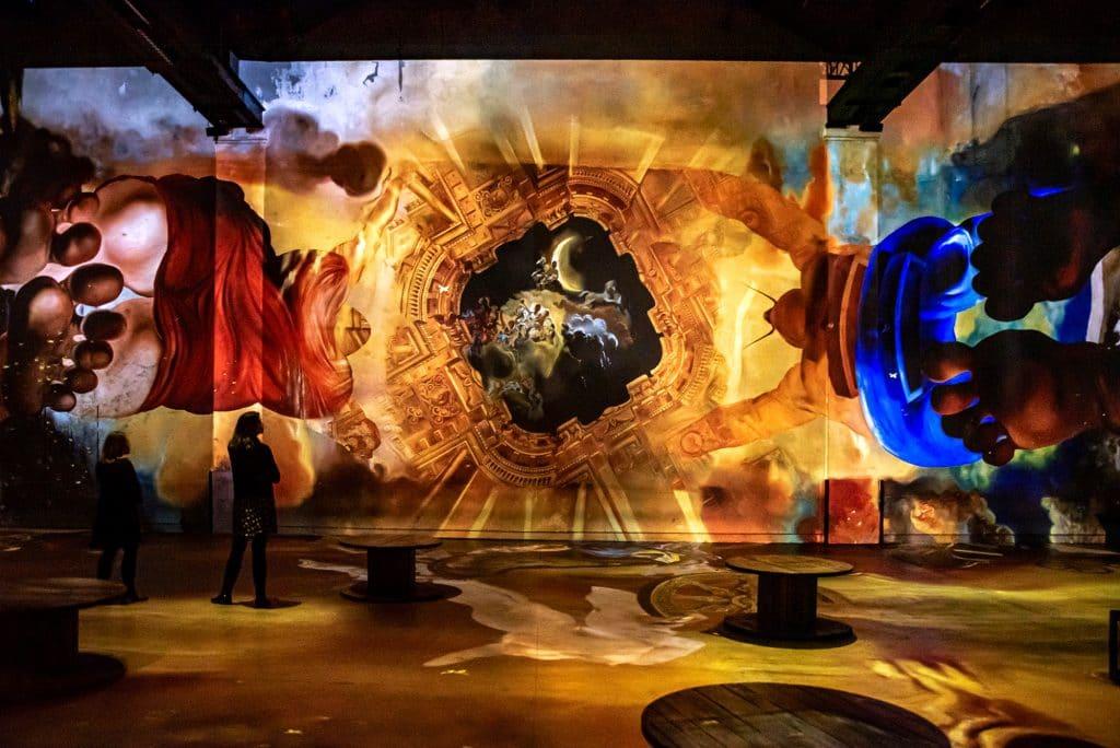 Nouveaux voyages immersifs Atelier des Lumières programmation 2021 Paris