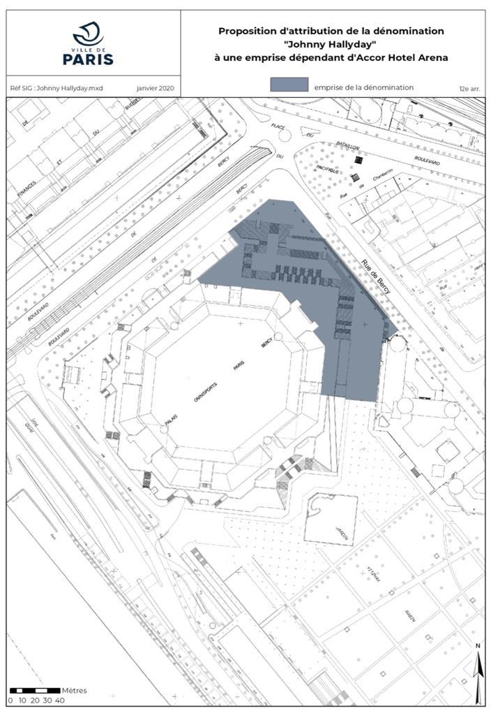 esplanade johnny hallyday paris 2021 bercy accor hotel arena