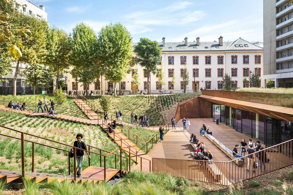 caserne lourcine Universite-Paris-1 Sergio-Grazia