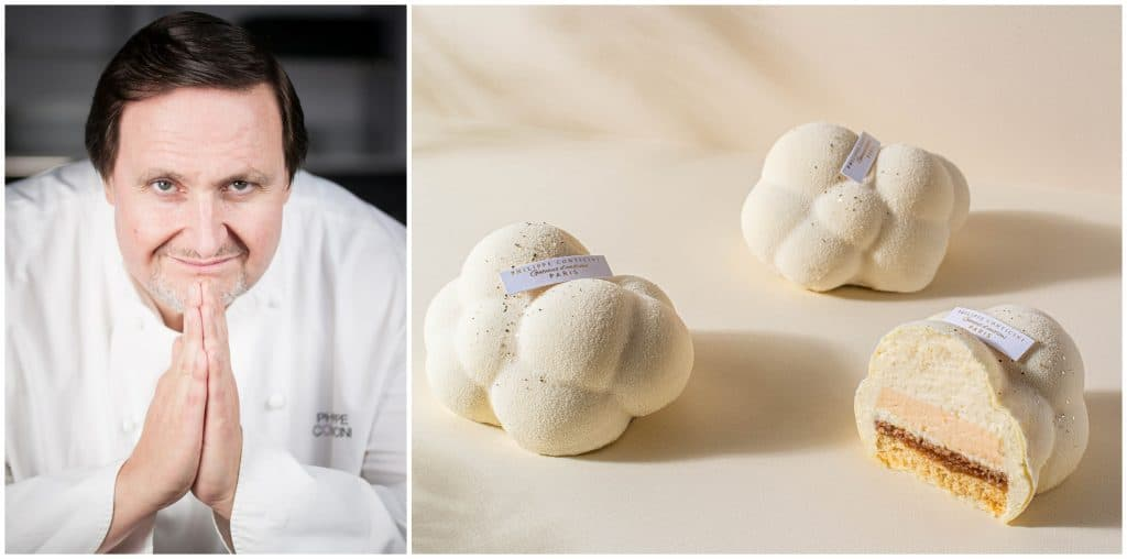 Chef pâtissier Philippe Conticini Paris 1er gâteau au CBD édition limitée