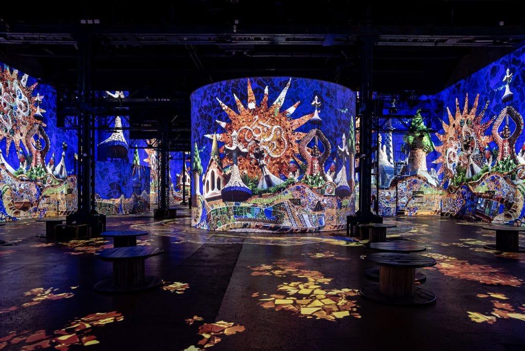 Gaudi Atelier des Lumières 3 avril 2021 Paris