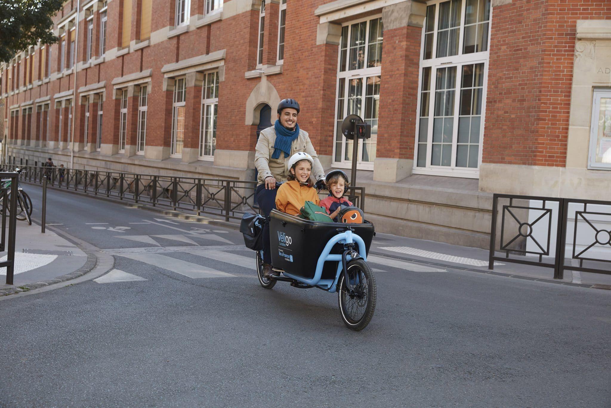 véligo nouveau vélo électrique cargo paris 2