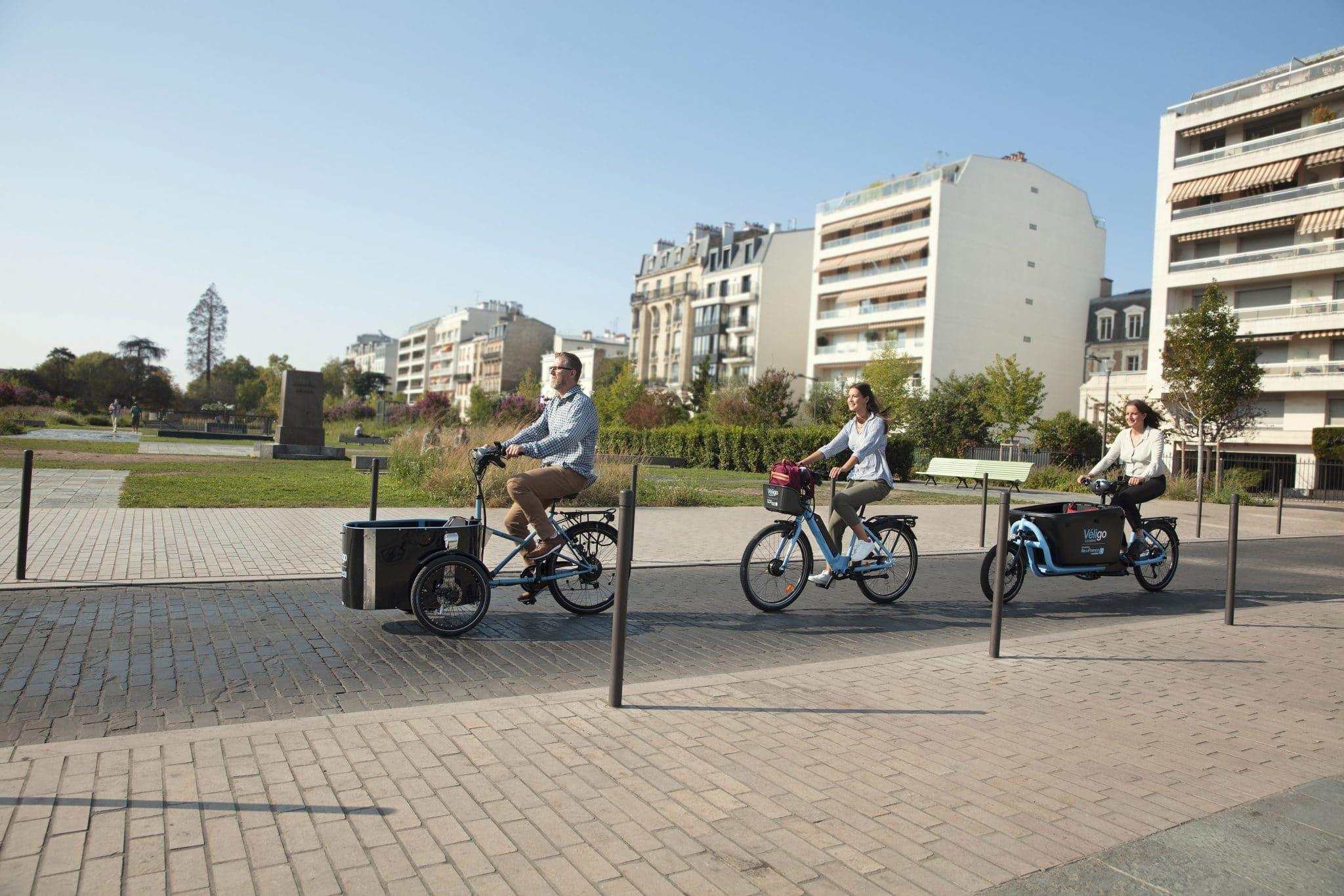 véligo nouveau vélo électrique cargo paris 1