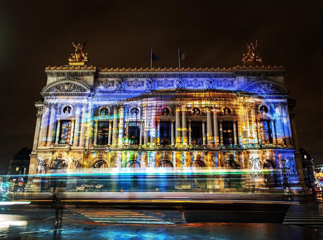 video mapping opera paris projection sons et lumières