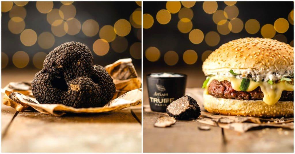 Burger à la truffe Noël édition limitée Big Fernand Le Tartuffe