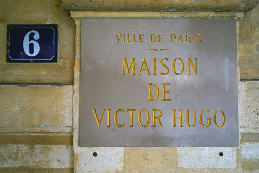 Déconfinement réouverture de la Maison de Victor Hugo place des Vosges 2021