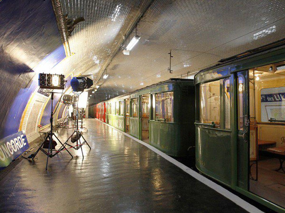 metro paris porte des lilas cinéma tournage