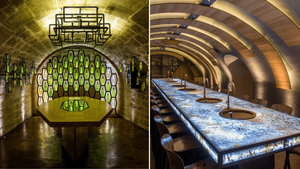 Visite dégustation ateliers vin Caves du Louvre Paris