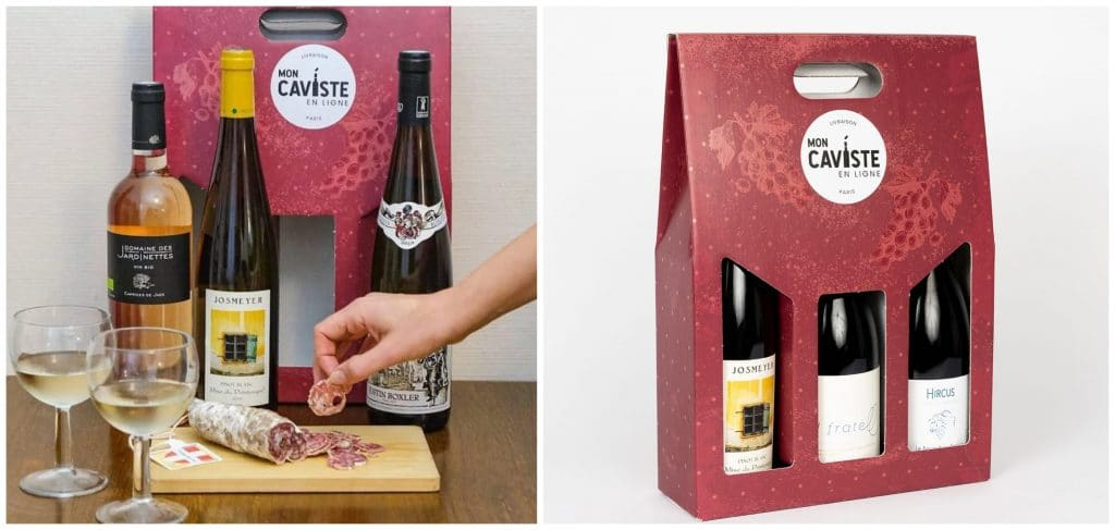 Box vin paris livraison