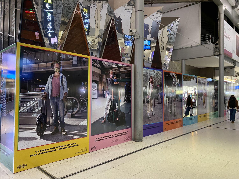 exposition-gare-du-nord-marvin-bonheur_stationord gratuit 2021 art photo