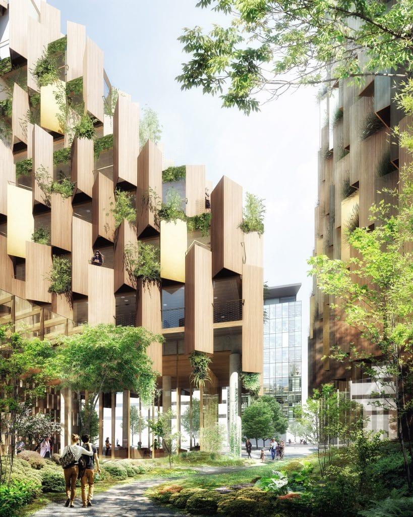 Hôtel écolo-luxe Kengo Kuma Paris Aurore