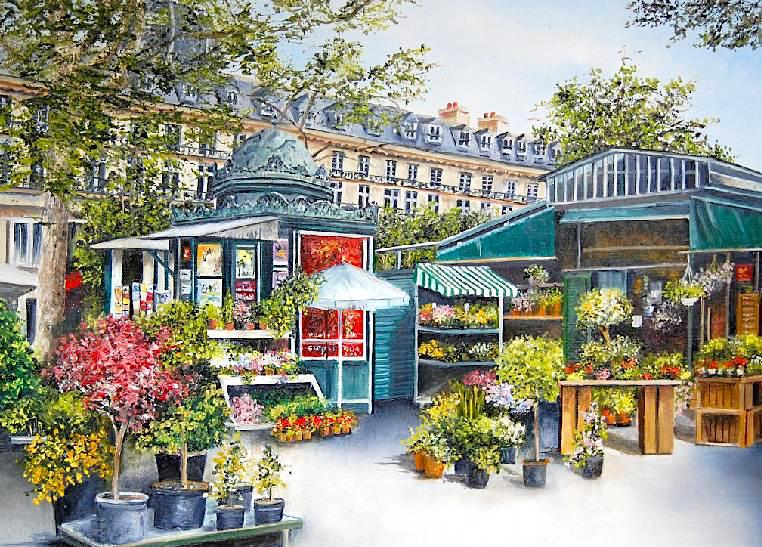 Rénovation Marché aux Fleurs Elizabeth II Paris Ile de la Cité
