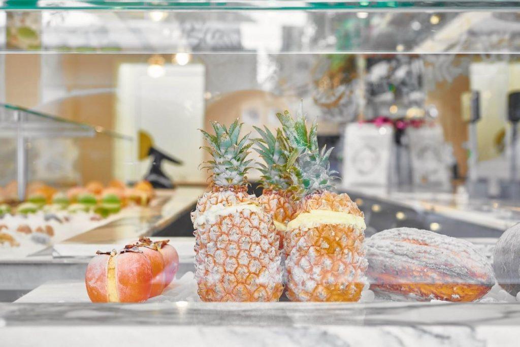 Fruttini by MO 2ème boutique Paris pâtisserie fruits givrés