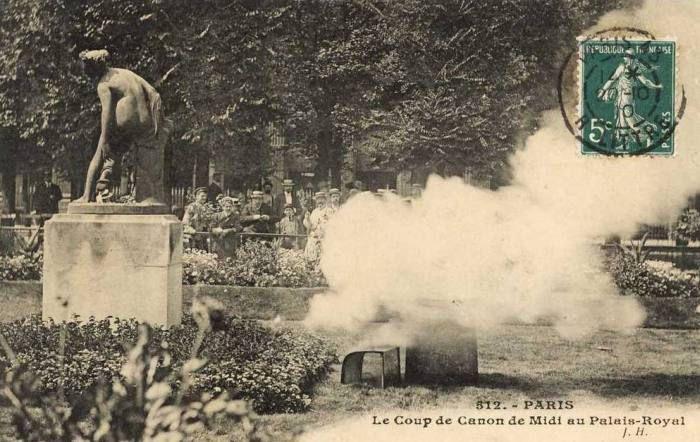canon du palais royal paris midi pétante