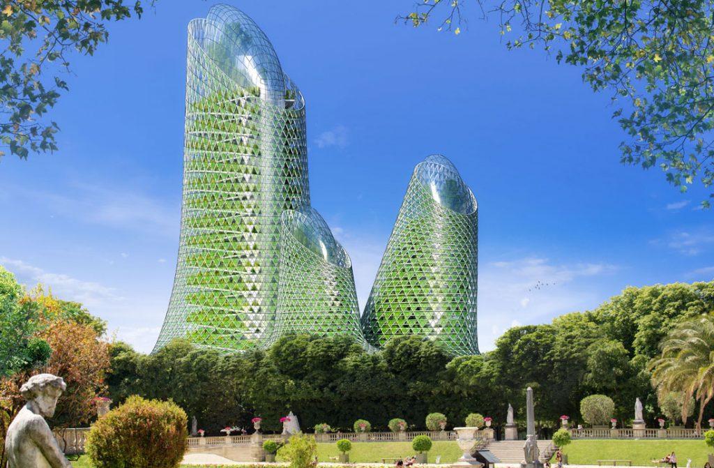 Paris 2050 architecture Paris green écoresponsable