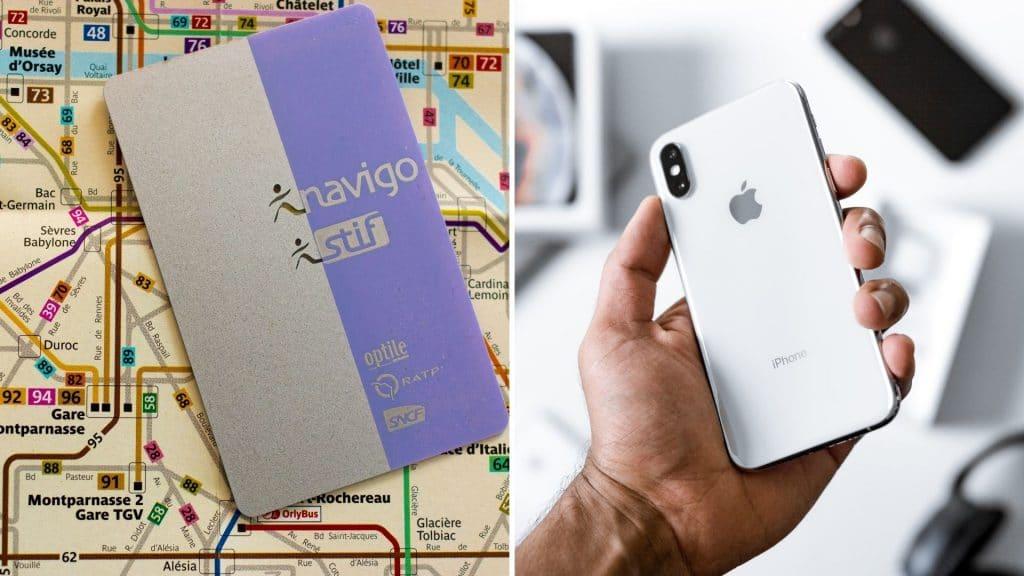 passe navigo apple ratp ile de france mobilité rechargement nfc titre de transport métro paris