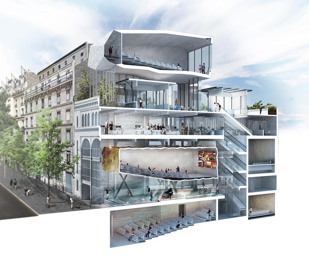 Étoile Voltaire cinéma nouveau lieu Paris 2021