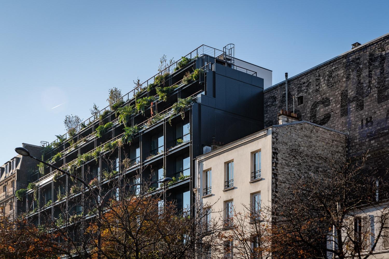 villa m photos centre de santé de demain futur végétal façade verte