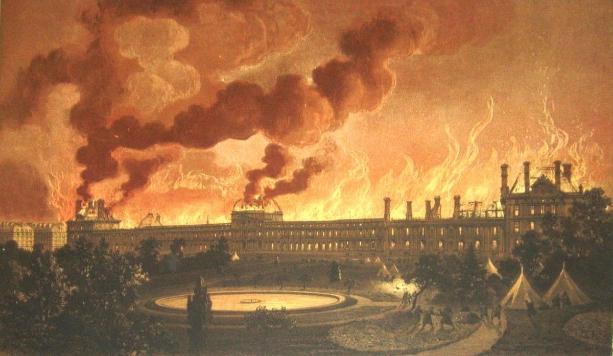 homme rouge fantome palais des tuileries paris légende urbaine