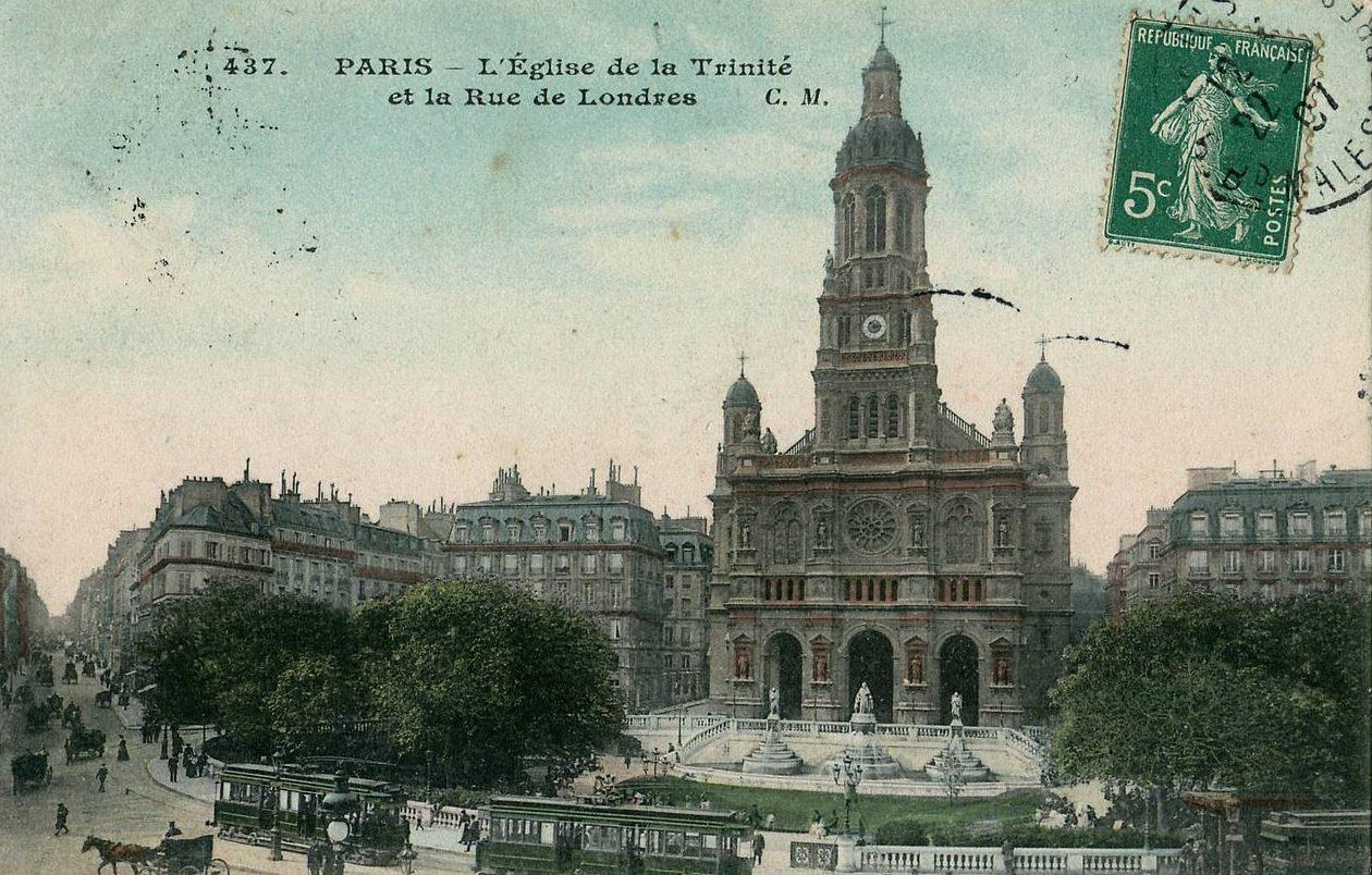 église trinité paris choeur de paris concerts musique classique bach haussmann