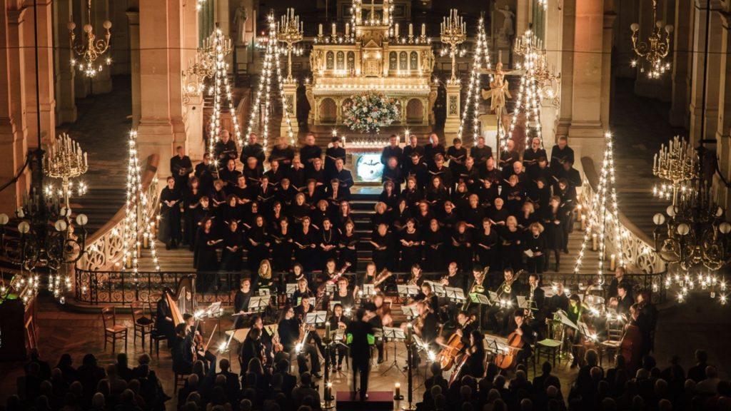 église trinité paris choeur de paris concerts musique classique bach