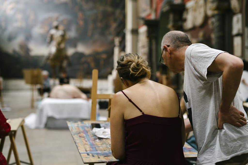 Cours amateurs École Beaux-Arts Paris 2021