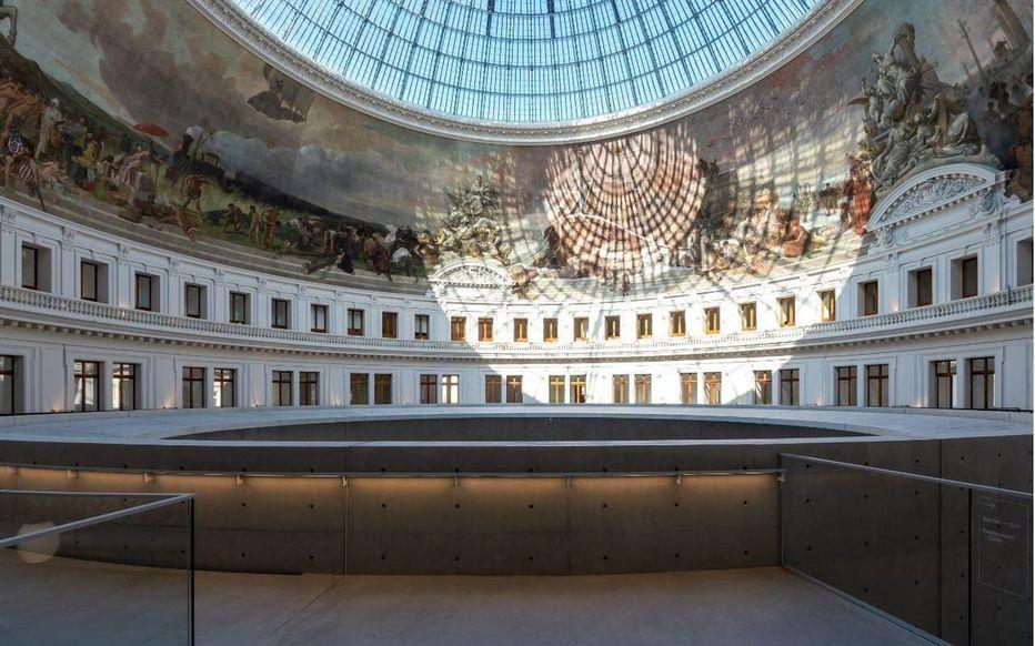 bourse du commerce collection pinault fondation art nouveau musée paris ouverture 2021