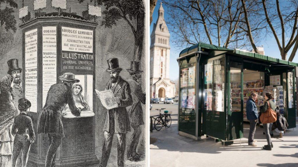 kiosques à journaux paris histoire culture patrimoine