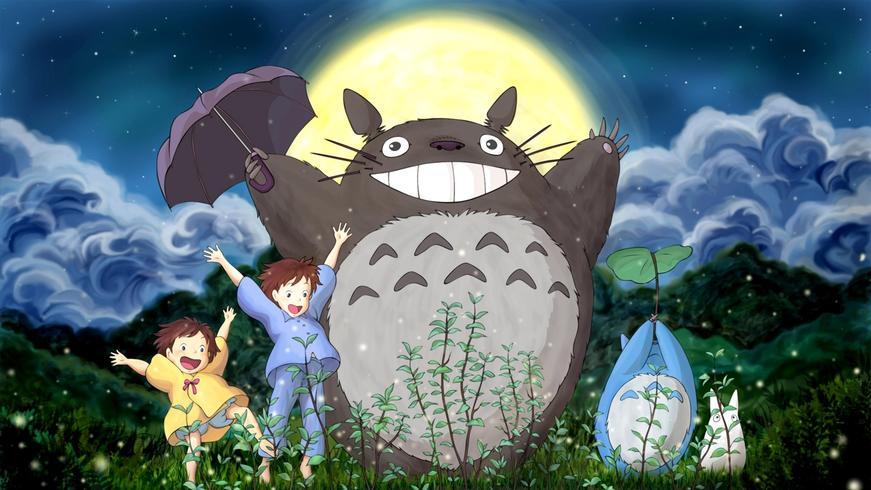 Mon voisin Totoro x Loewe collection capsule Pop-up store Bon Marché Paris Studio Ghibli