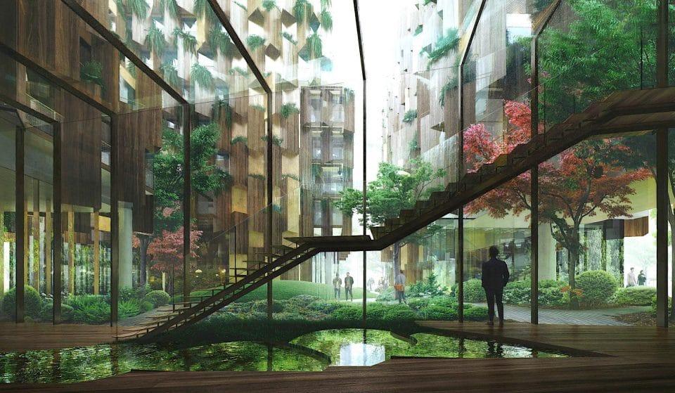 Un hôtel écolo-luxe signé Kengo Kuma va ouvrir à Paris !