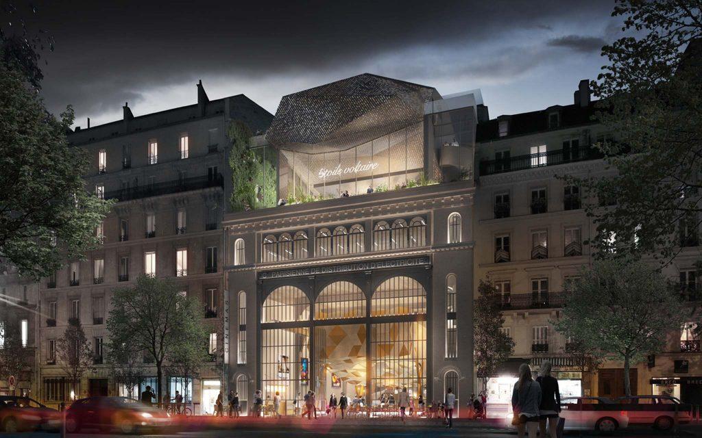 Étoile Voltaire Réinventer Paris 2021